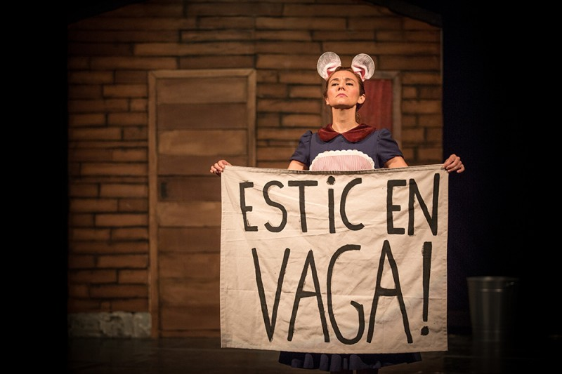 Teatre familiar: 'Ai, rateta, rateta'